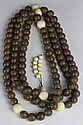 Chinese Chenxiang Aloeswood Prayer Beads