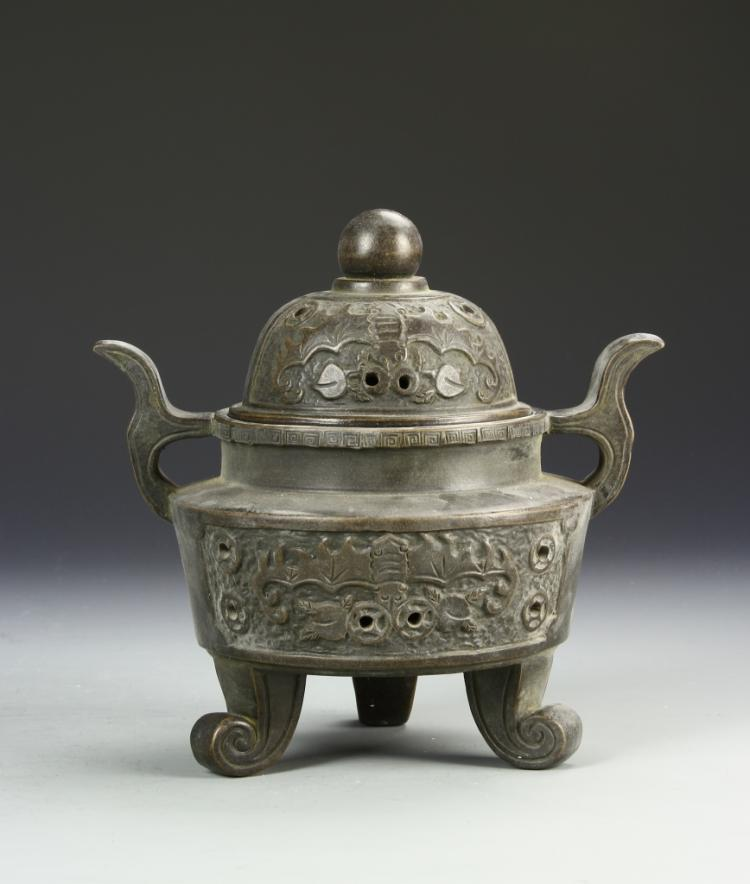 Chinese Yixing Tripod Censer