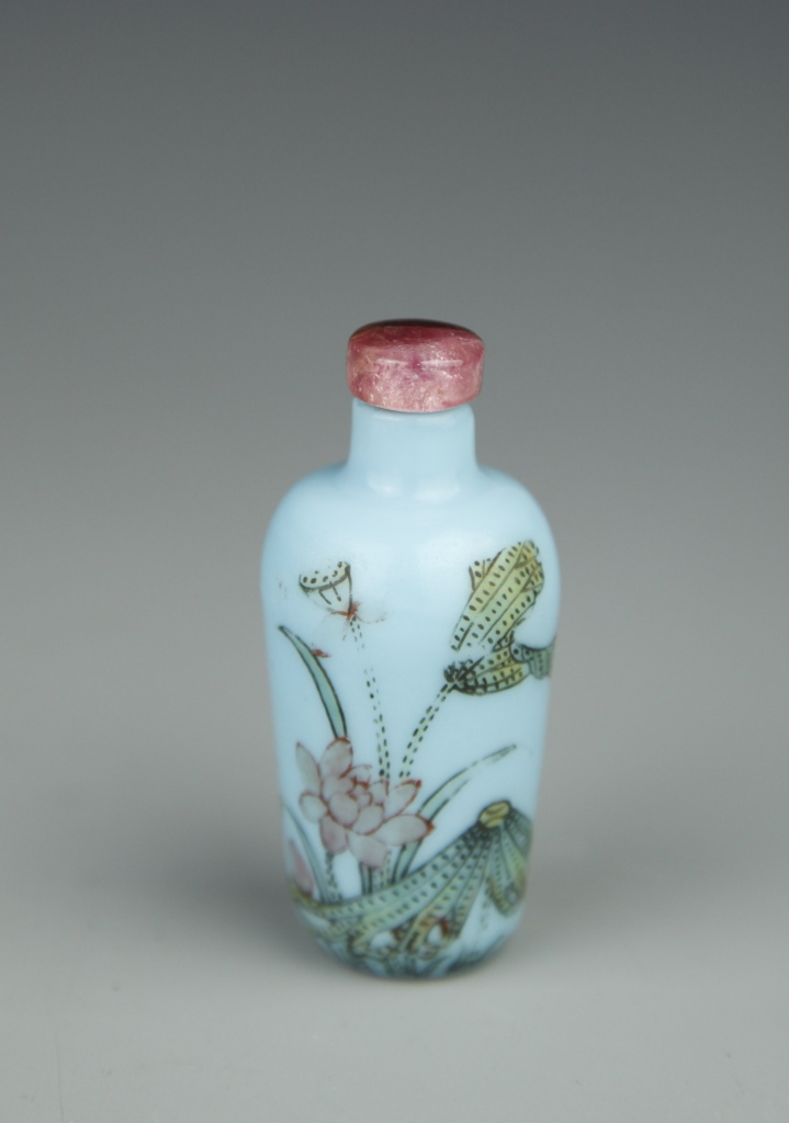 Rare Chinese Peking Glass Snuff Bottle
