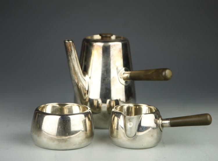 Set of European Silver Tea Set