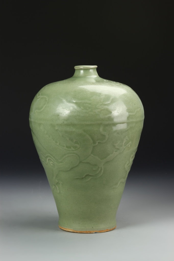 Chinese Longquanyao Meiping Vase