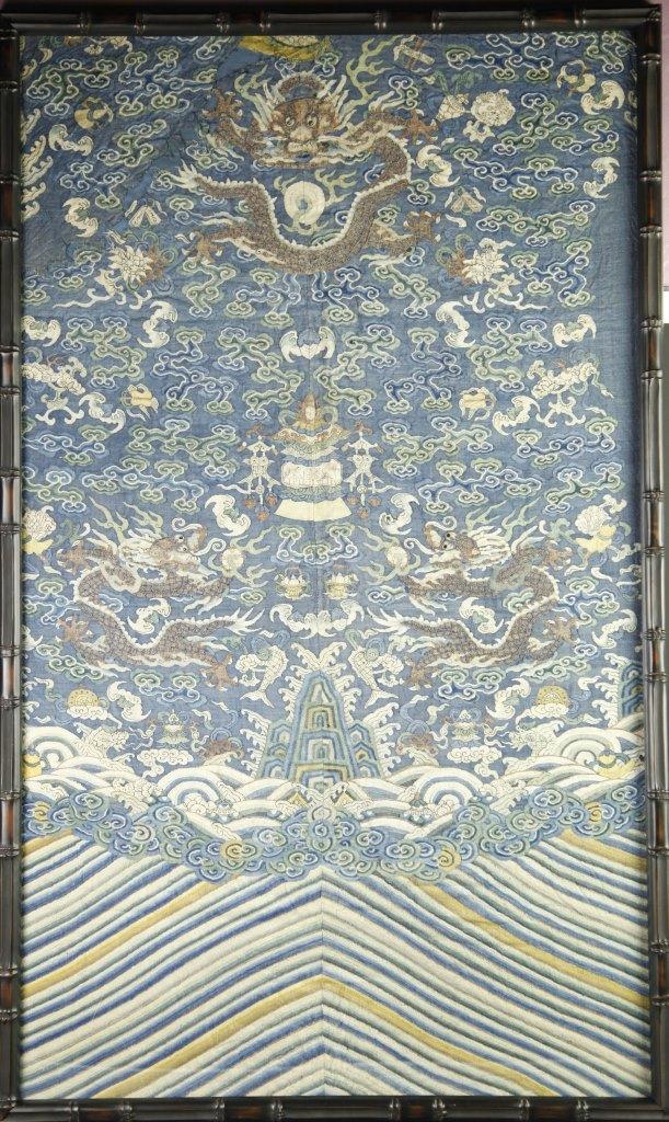 Chinese Kesi Dragon Panel