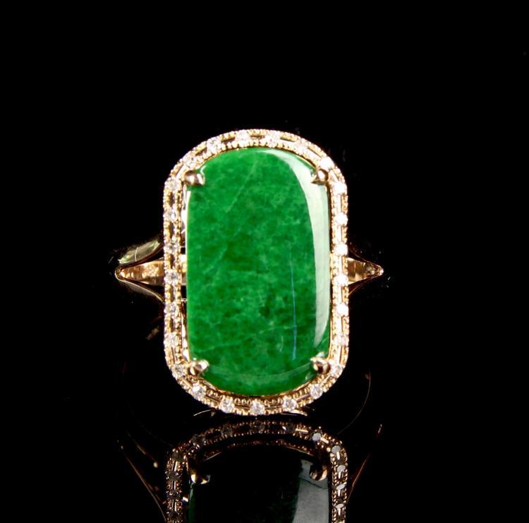 Chinese Jade Ring