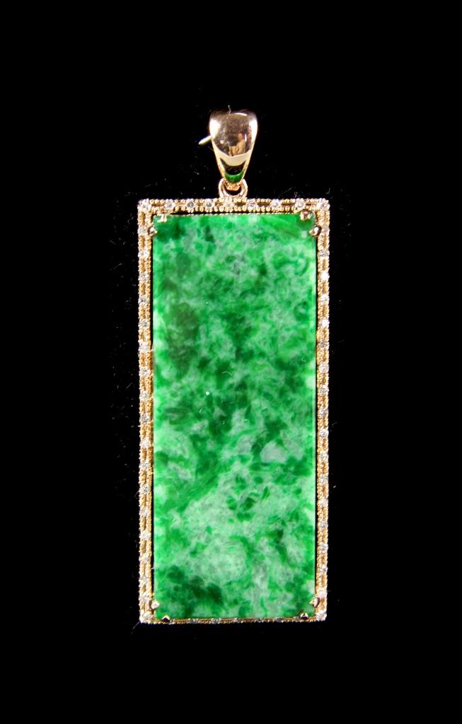 Chinese Jadeite Pin