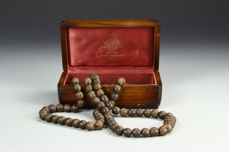Chinese Chenxiang Wood Prayer Beads