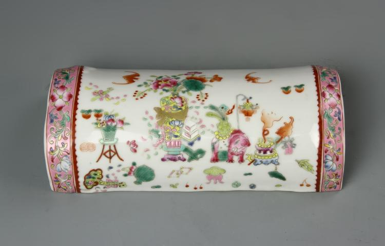 Chinese Famille Rose Wrist Rest
