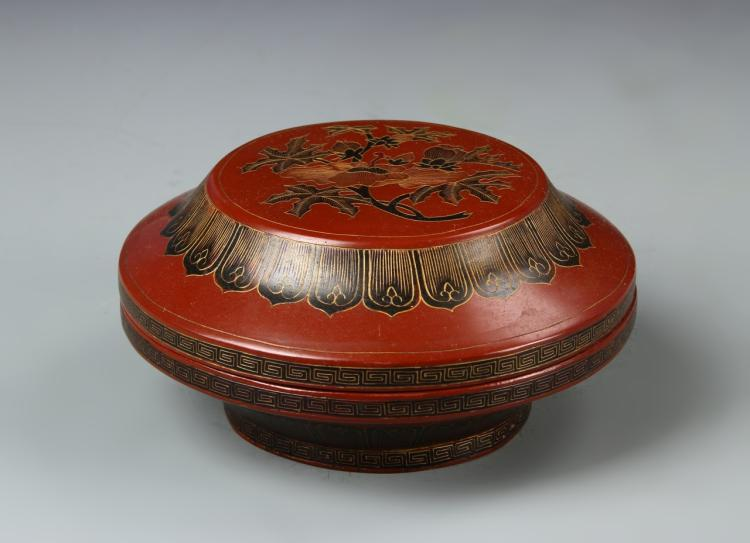 Chinese Lacquer Bowl