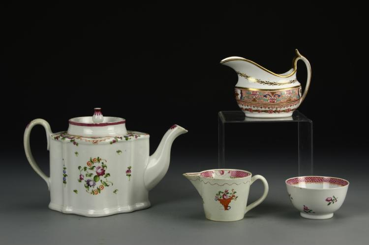 Chinese Export Famille Rose Tea Set