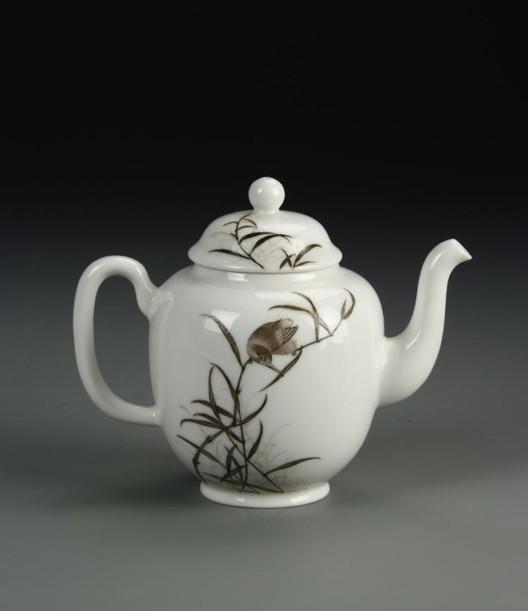 Chinese Famille Rose Tea Pot