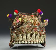 Chinese Embroidery Hat