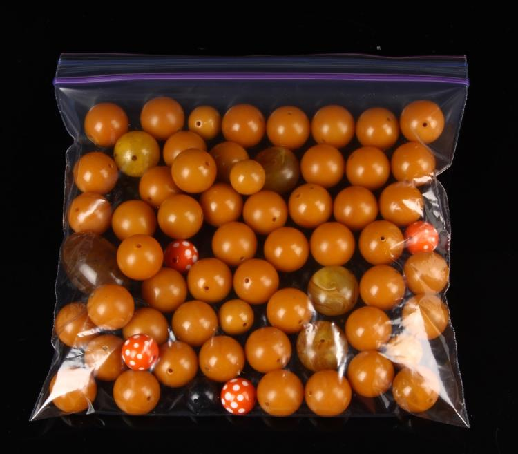 Chinese Bag Of Beads