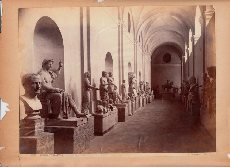 Albumen Print of Museo Di Napoli