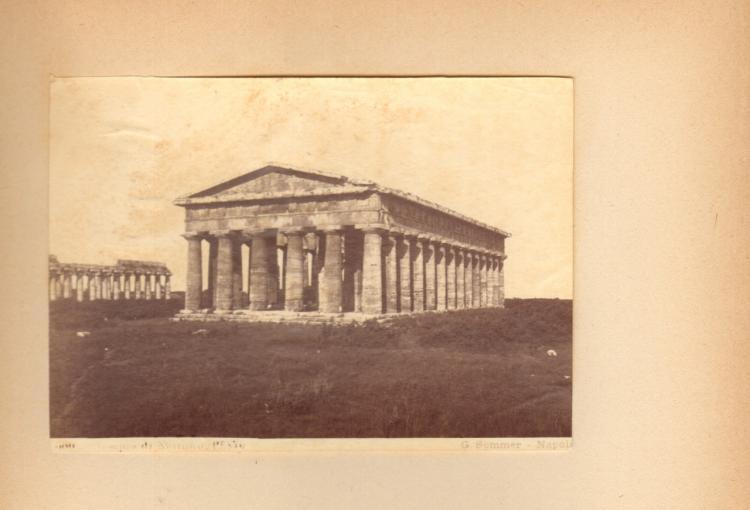 Albumen Print of Museo Napoli