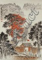 Chinese Scroll Painting Signed Qian Songyan