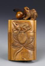 Japanese Boxwood Box