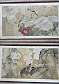 Pair of Chinese Framed Scroll Paintings