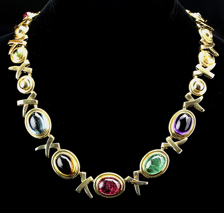 18K Gold Tiffany Paloma Picasso Necklace