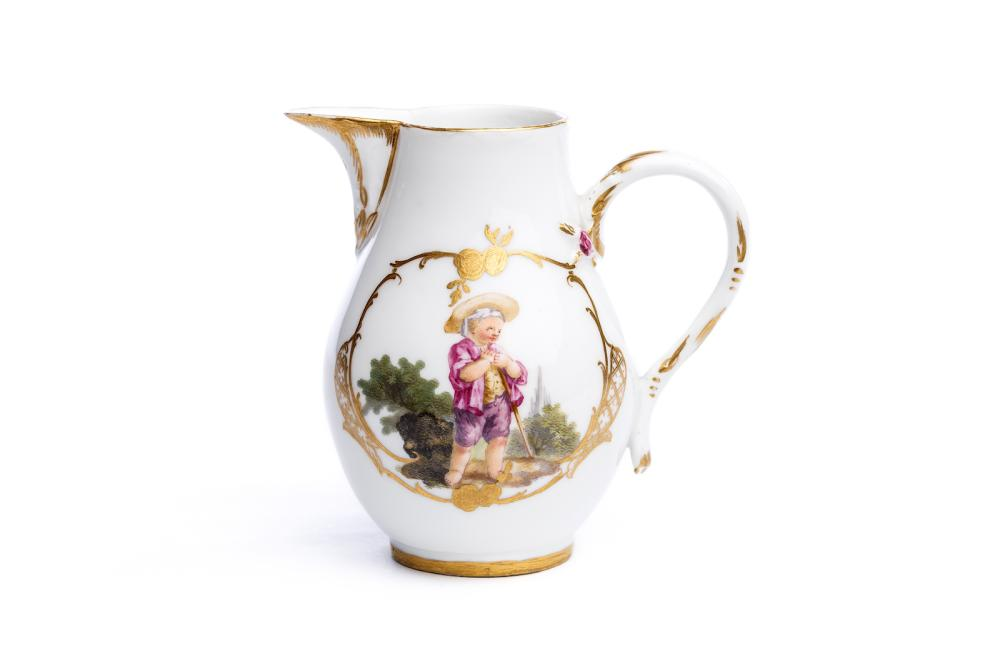 "Little pot ""Children"", Meissen 1765 