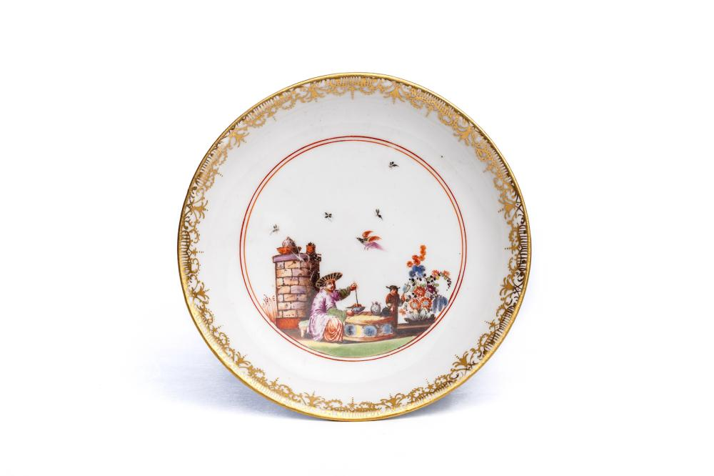 Small saucer, Meissen 1740 | Kleine Unterschale, Meissen 1740, The Hoffmeister Collection
