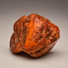 White/Marble Baltic Amber stone (405.4 g.)