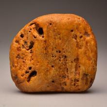 Yellow/White Baltic Amber stone (551 g.)
