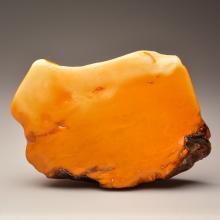 Huge Milky white Baltic Amber stone (702.2 g.)