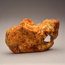 Beautiful white/marble Baltic Amber stone (320.8 g.)