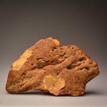 Pure (rare) white Baltic Amber stone (639.8g.)