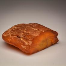 Yellow Baltic Amber stone (549.4 g.)