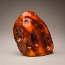 White/Yellow/Marble stone of amber (510.6 g.)
