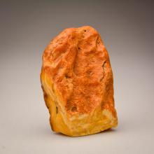 Yellow/Marble Baltic Amber stone (205.6 g.)