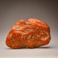 Dark Cognac/Yellow color Baltic Amber stone (320.6 g.)