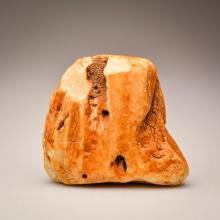 White Baltic Amber Stone (150.8g.)