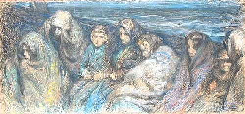 HAGEMANS Victor. Poolse emigranten - Emigrants