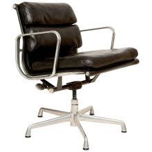 Vintage Herman Miller Eames Soft Pad Aluminum Group Chair