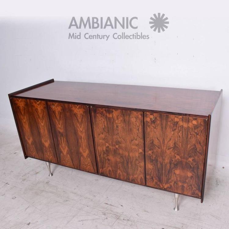 Mid Century Danish Modern Rosewood Cabinet