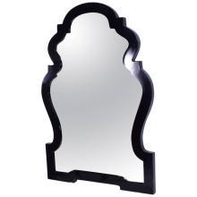 Contemporary Jonathan Alder Black Mirror Hollywood Regency Style