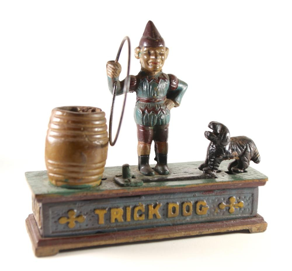 """TRICK DOG"" MECHANICAL BANK"