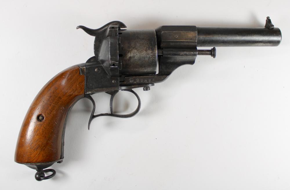 M1854 LEFAUCHEX REVOLVER [CIVIL WAR]