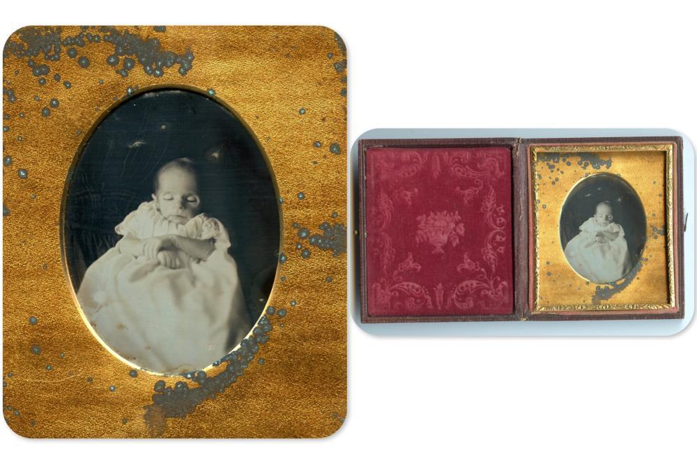Sixth Plate Post-Mortem Daguerreotype