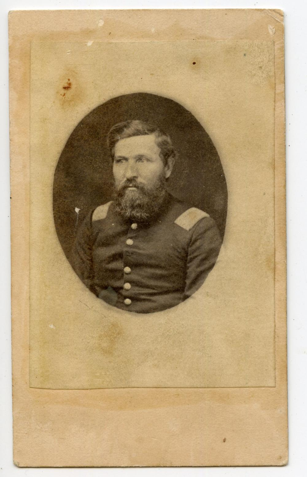 84th Illinois Civil War CDV, Wounded in TN