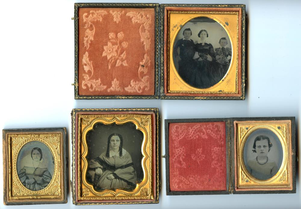 Group of Four Portraits