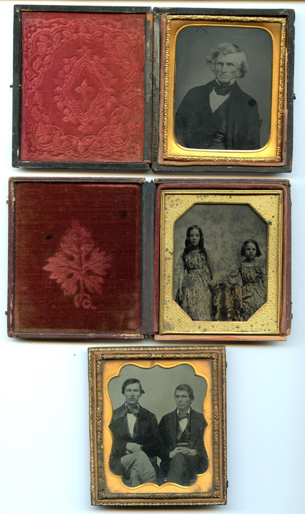 Group of Three Images