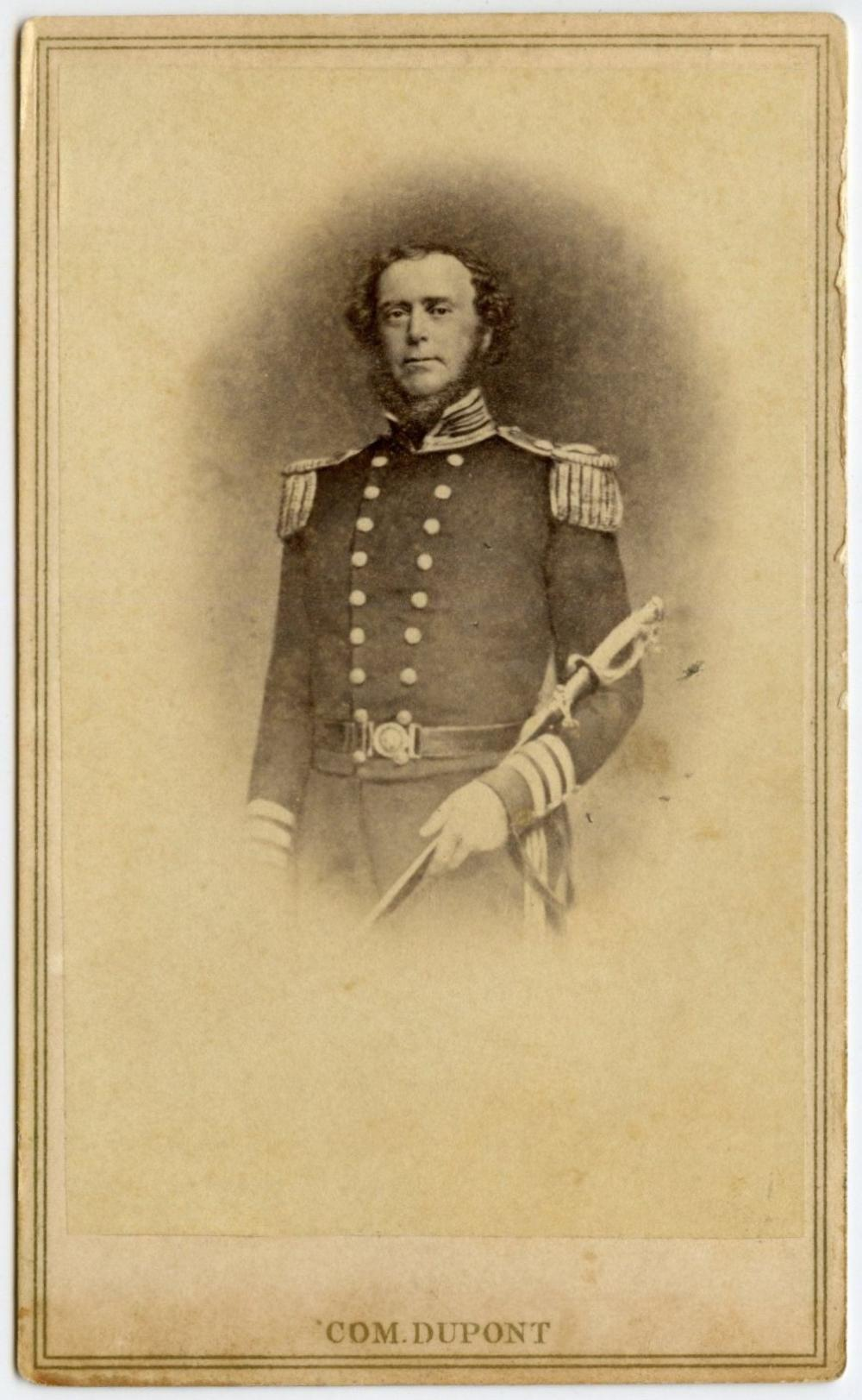 Civil War CDV of Samuel Francis Du Pont