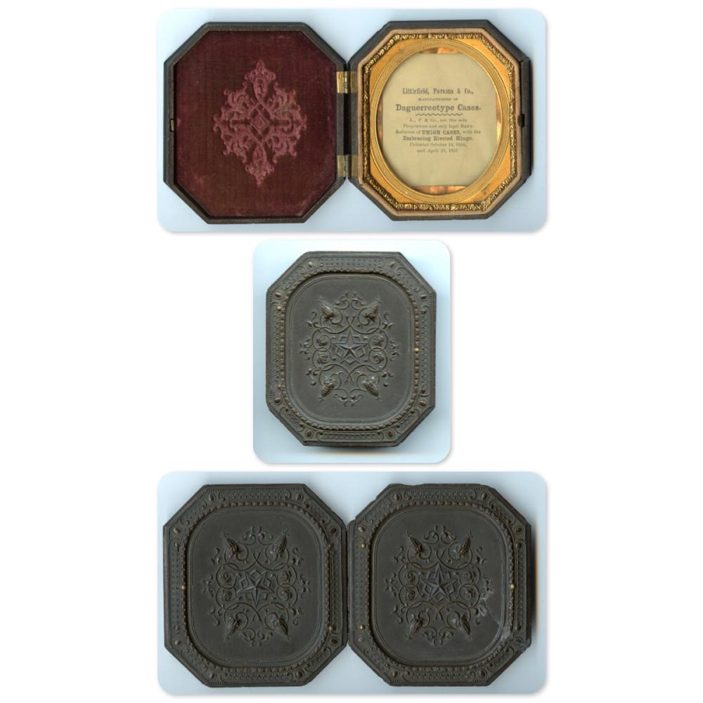 Sixth Plate Octagonal Thermoplastic Case