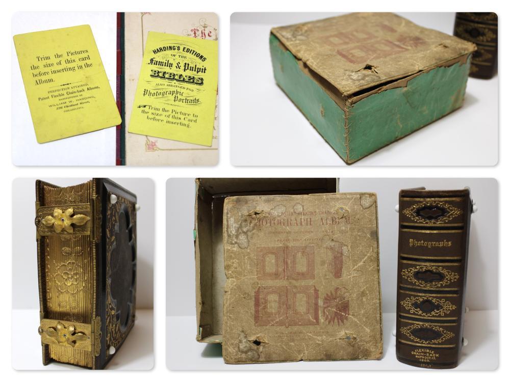 CDV Album in Original Box- Museum Quality