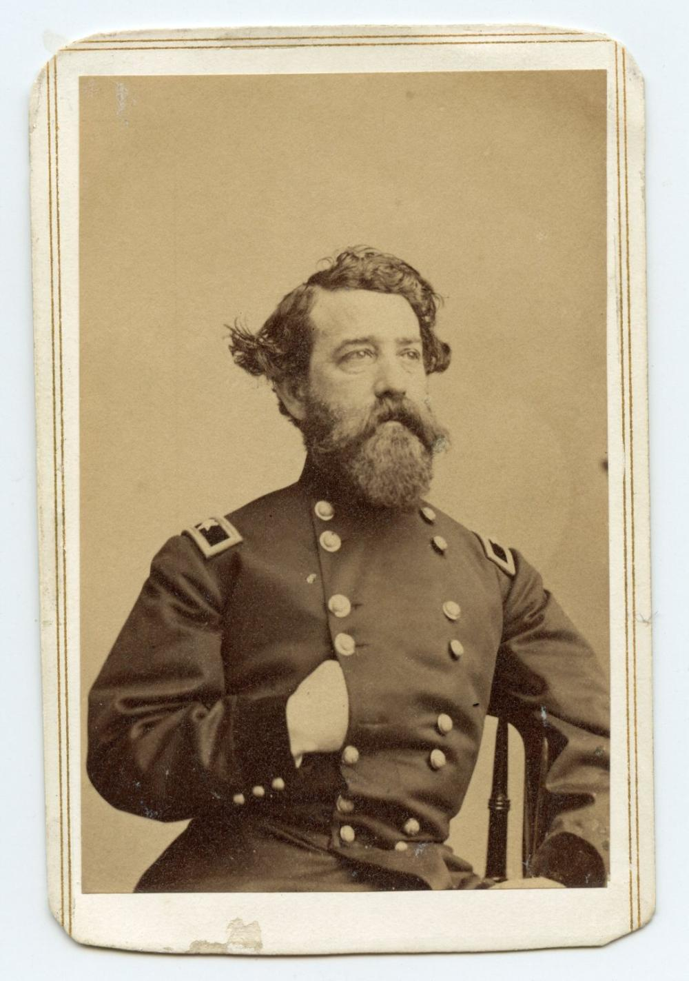 Civil War CDV Gen. Brannan- San Francisco Imprint