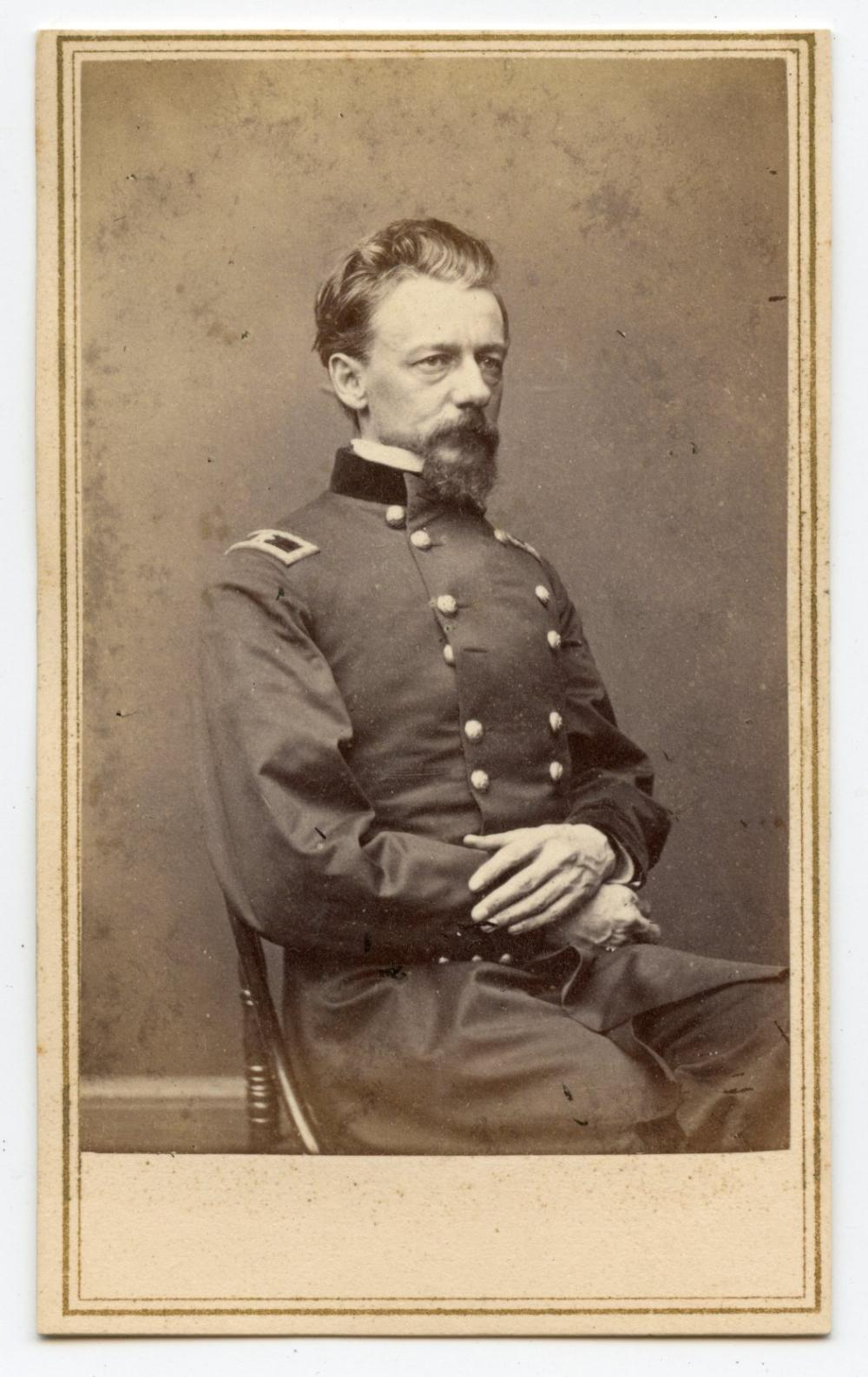 Civil War CDV General Slocum- Gettysburg Commander