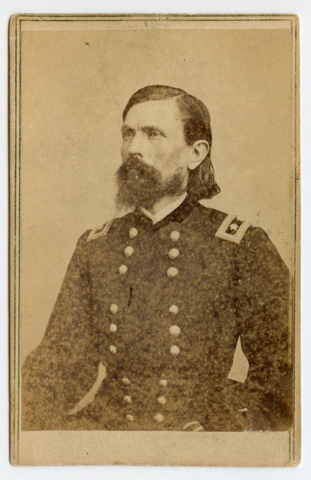 Civil War CDV of General Thomas Crittenden