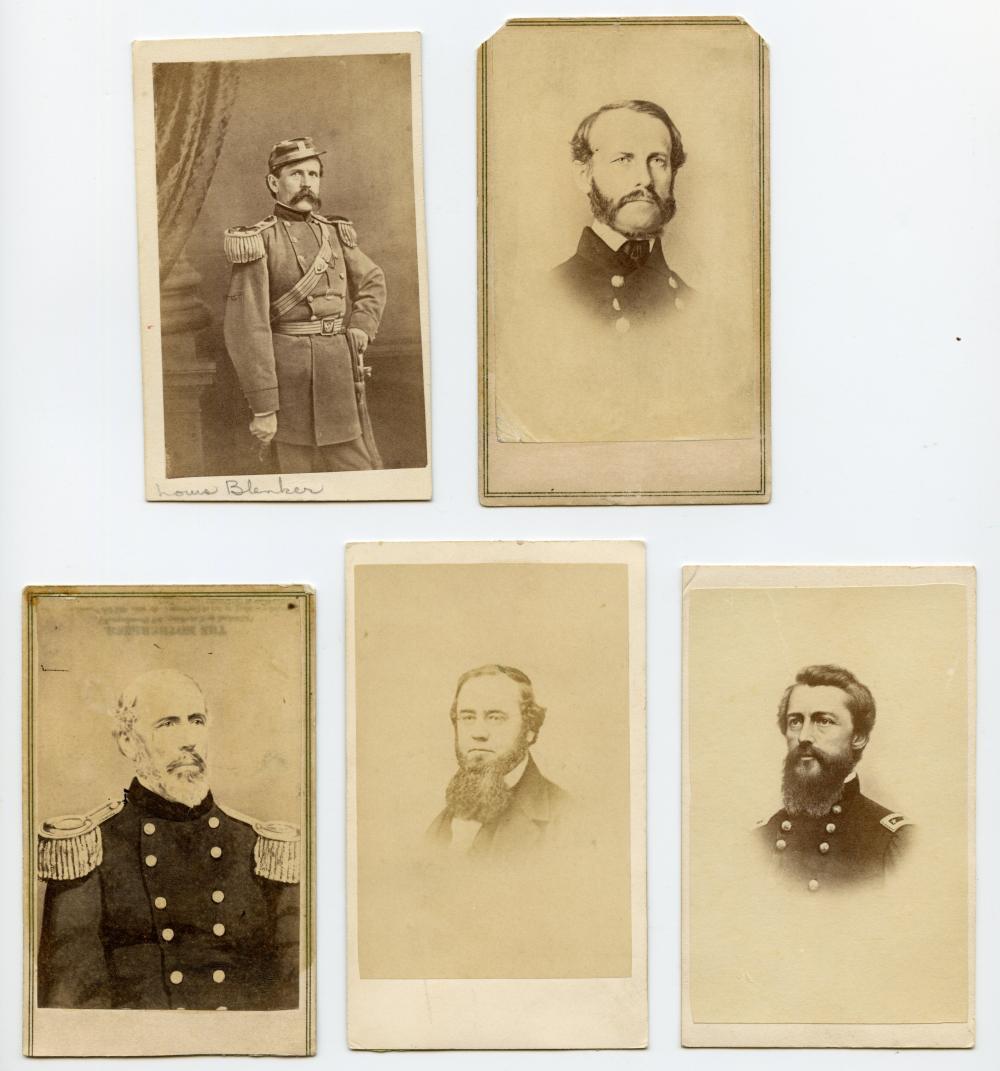 Civil War Leaders and Generals CDV Lot